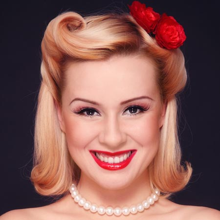 stylish vintage hairstyles love