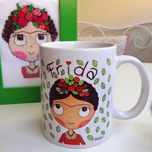 haricats, frida, kahve kupası, hediye
