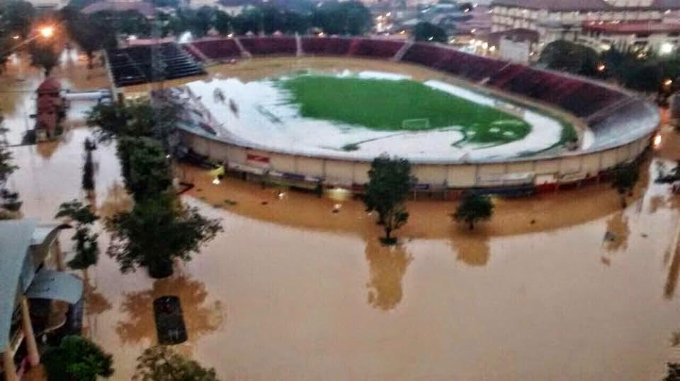 Lokasi: Stadium Sultan Muhammad IV