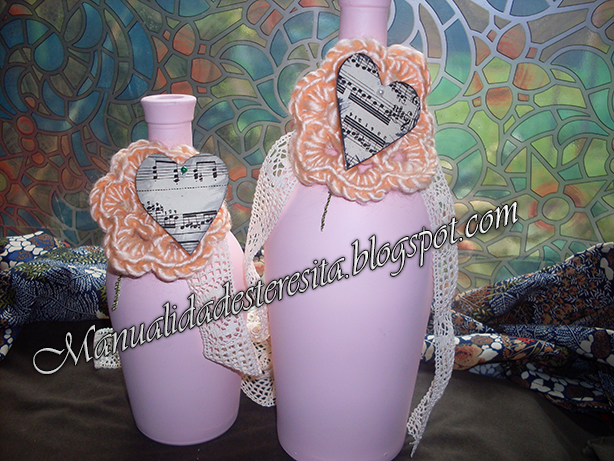 Botellones laqueados