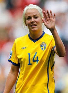 Soccer Player Josefine Oqvist