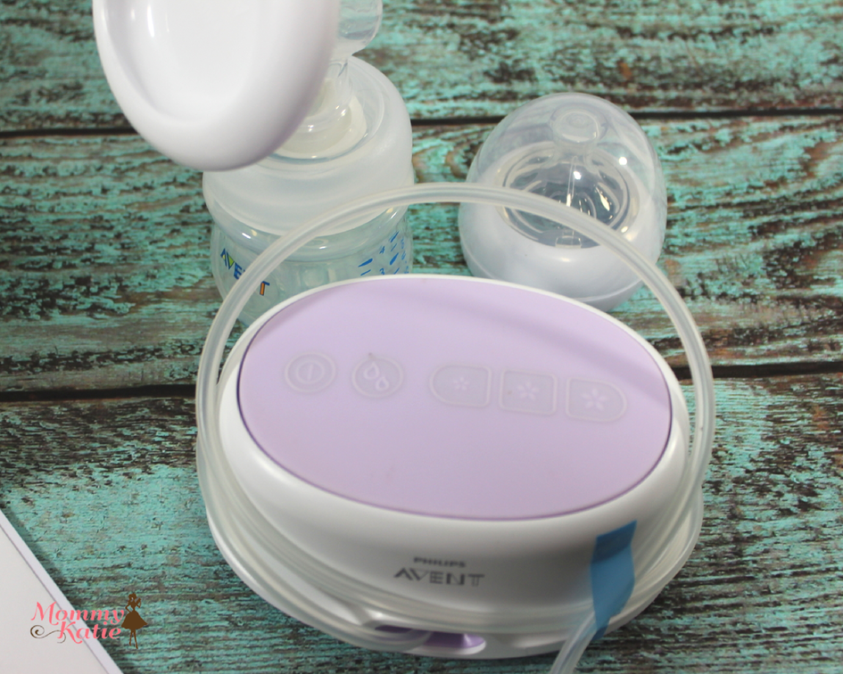 philips avent single electric breast pump instructions