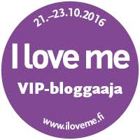 I Love me VIP-bloggaaja 2016