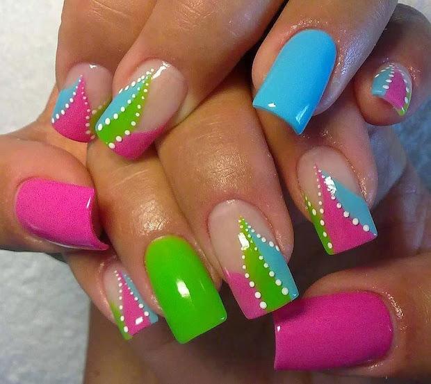 semplicemente chic unghie decorate
