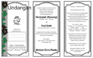 Download Undangan Gratis   Undangan Pernikahan   Undangan Khitan ...