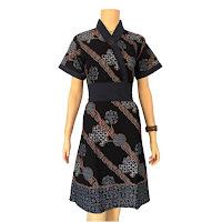 Busana Batik Wanita Terbaru Modern