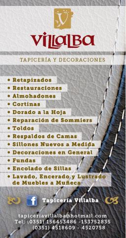 Tapiceriavillalba folleto tapiceria y decoraciones - Tapiceria y decoracion ...