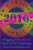 2016 A to Z Survivor