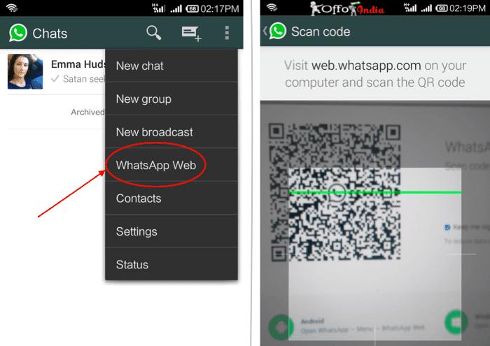 شرح whatsapp web