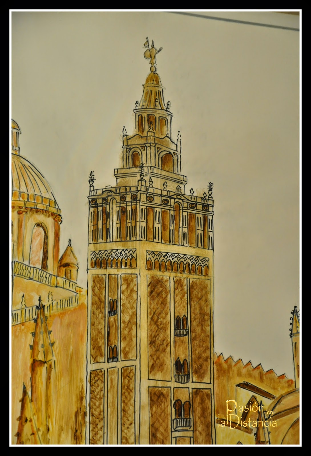 Urban_Sketcher_de_la_Giralda_Sevilla