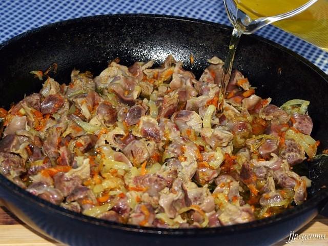 Что можно приготовить из куриных желудков рецепт с фото