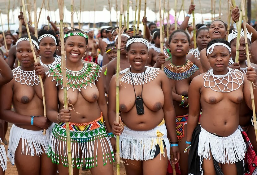 Zulu Girls The Royal Reed Dance Or Better Still Know In