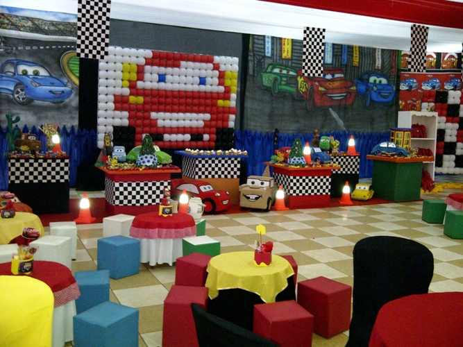 decoracion rayo mcqueen celsior eventos