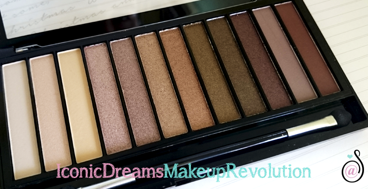 makeuprevolution iconic dreams paleta sombras