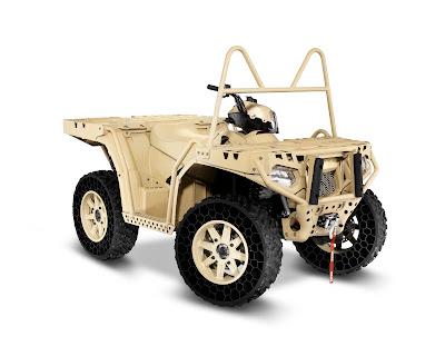 MV850 ATV with Non-Pneumatic Tires