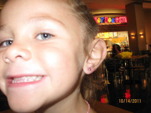 Cayman ears pierced