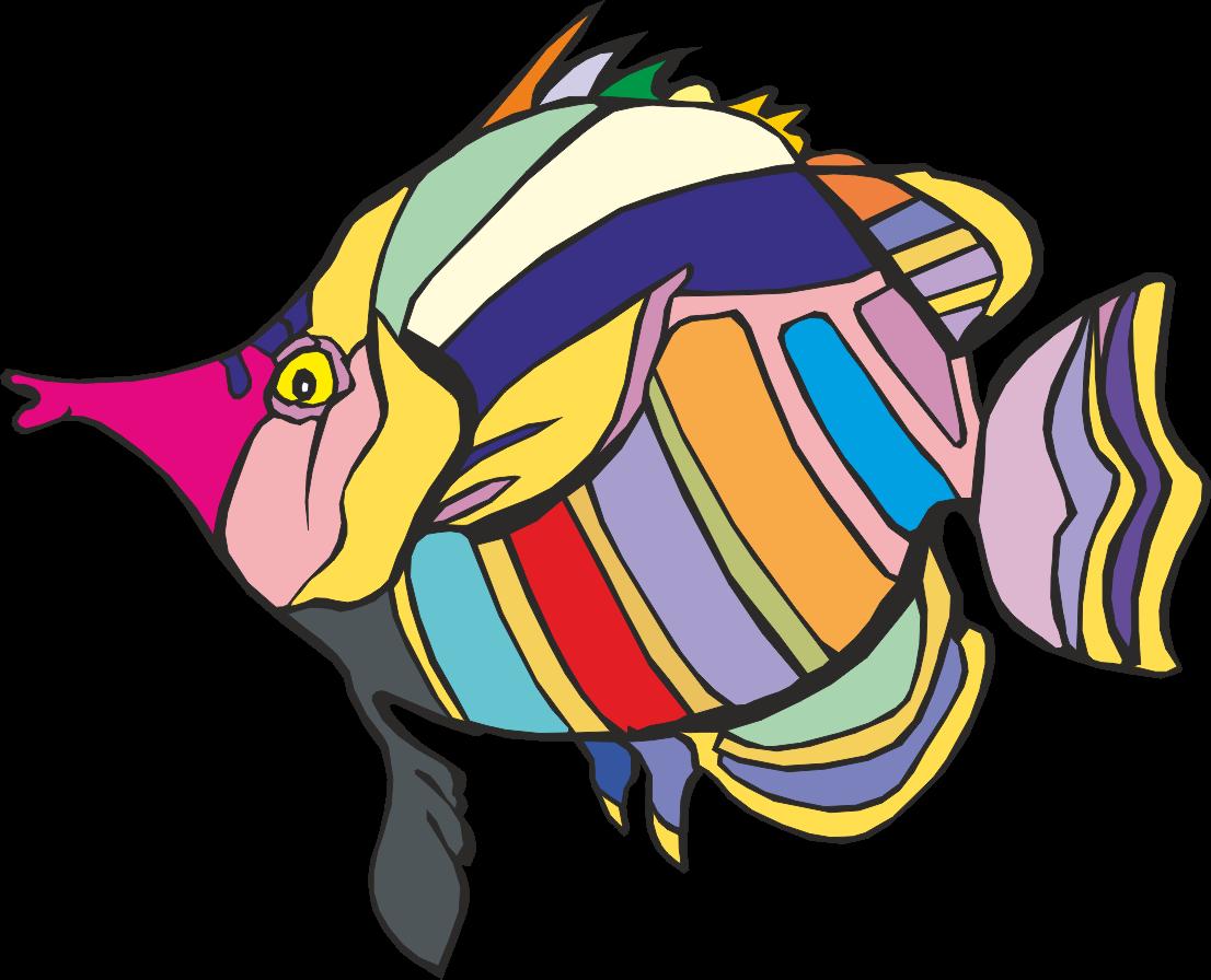 A scuola con poldo favola dell 39 accoglienza for Disegni pesciolino arcobaleno