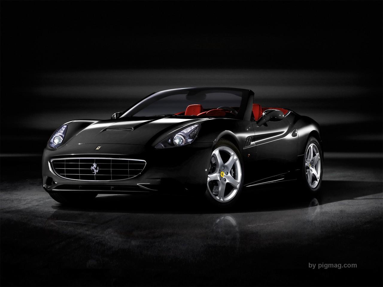 2012 Lamborghini Aventador Ferrari California Black