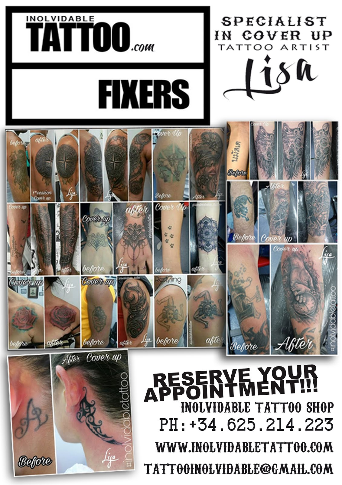 ...inolvidable tattoo fixer in Lloret De Mar...