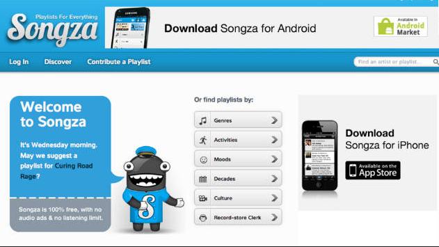 Google Resmi Gaet Songza