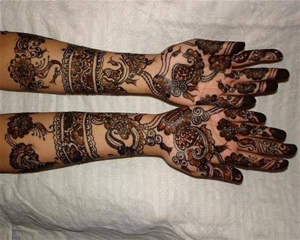 Rajathani Traditional Hand mehndi designs