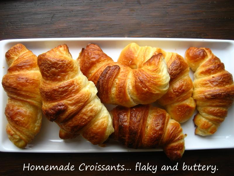 Croissants Recipe — Dishmaps