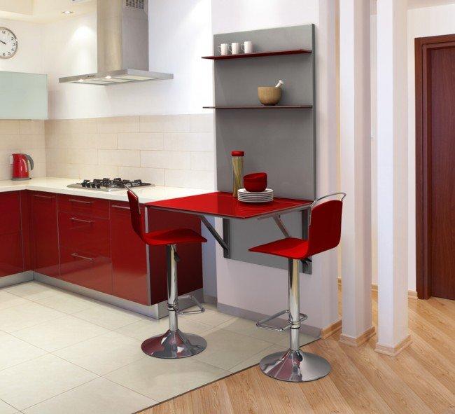 Mi rinc n de sue os barras y taburetes en la cocina - Mesas de cocina tipo barra ...