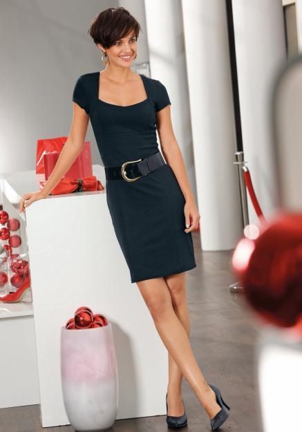Vestidos ejecutivos para dama 2012 - Imagui