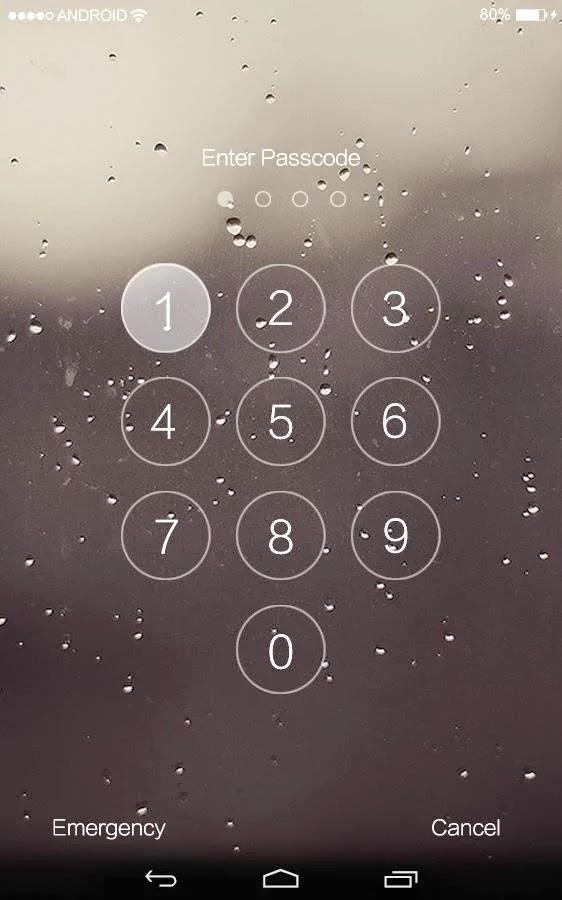 Android iPhone Kilit Ekranı Apk resimi 3