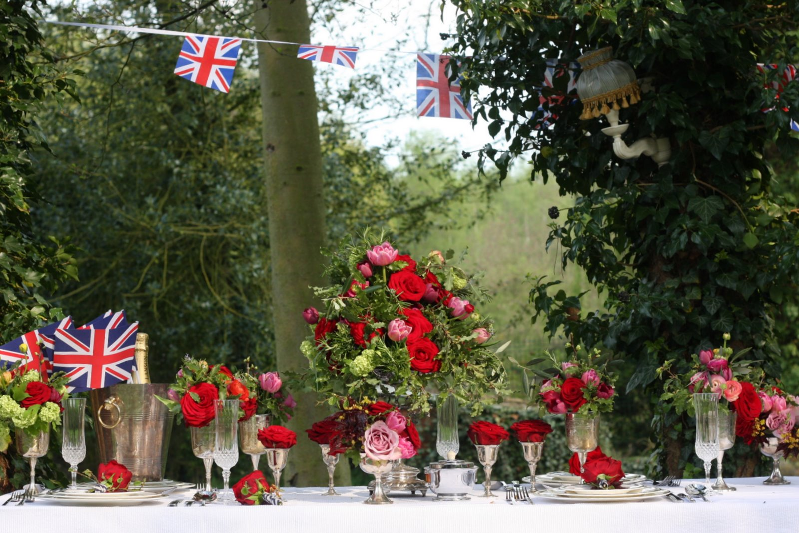 Miss Pickering Royal Wedding Garden Party