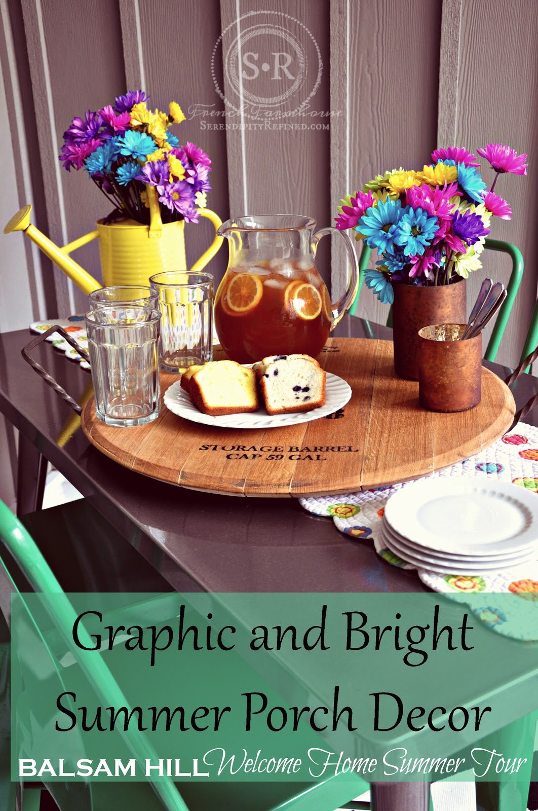 Serendipity Refined Blog Bright And Graphic Porch