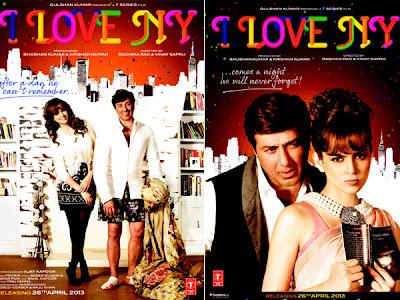 I LOVE NY (Official) Digital Motion Poster - Sunny Deol, Kangna Ranaut