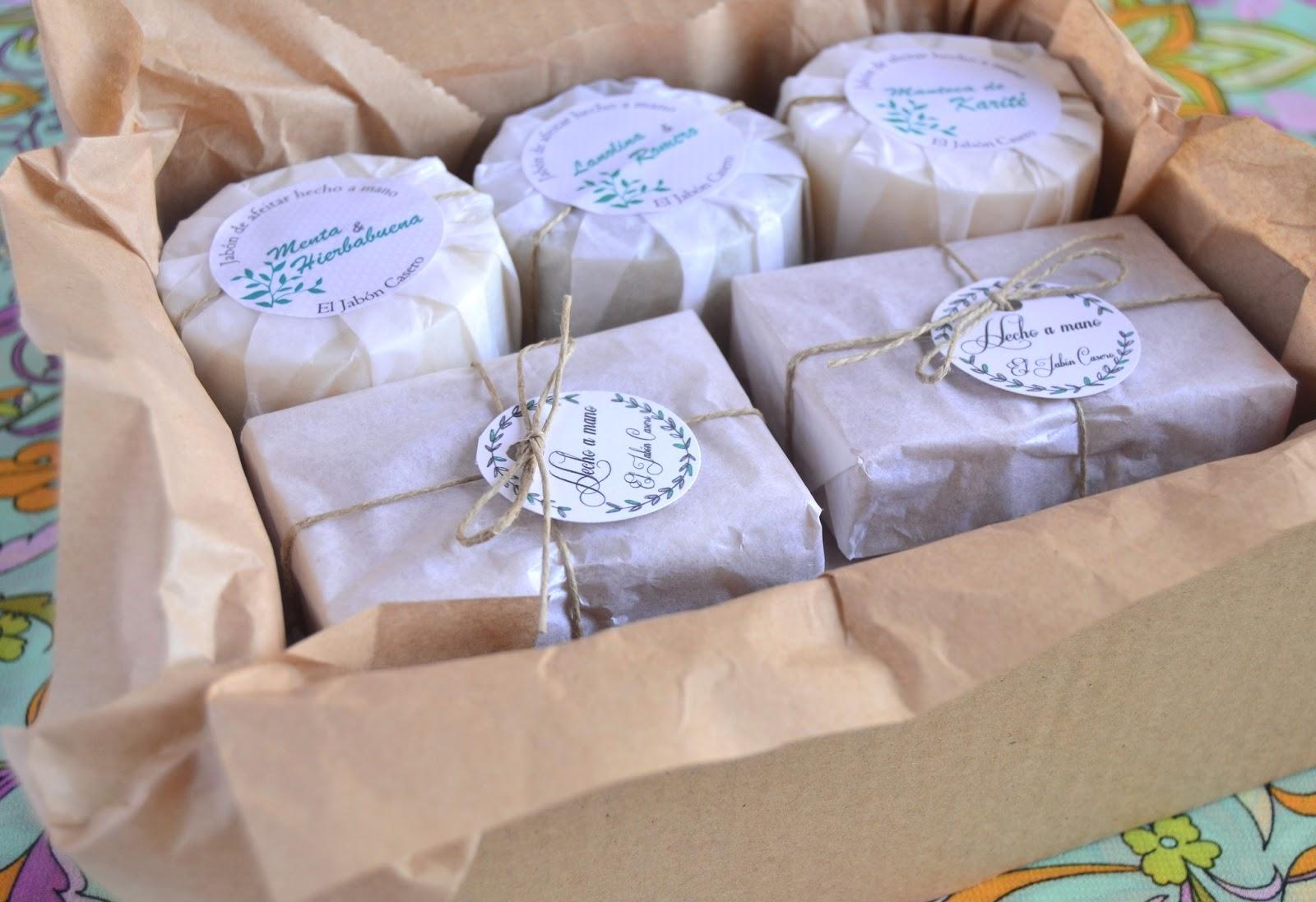 El jab n casero jabones naturales creativos - Como hacer puff artesanales ...