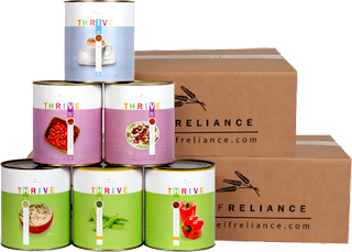 One Year Food Supply Shelf Reliance Thrive Foods