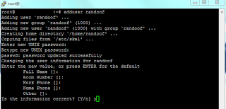 OpenSSH Add User
