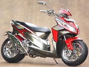 70+ Modifikasi Motor Honda Vario