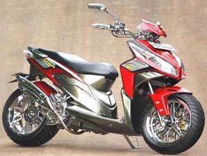 Kumpulan Foto-foto Modifikasi Honda Vario title=