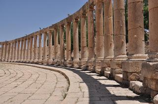 Plaza Oval de Jerash