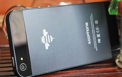 Hanya Di Cina Iphone 5 Menjalankan Android Os [ www.BlogApaAja.com ]