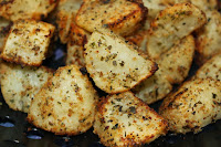 Grilled Breaded Potatoes