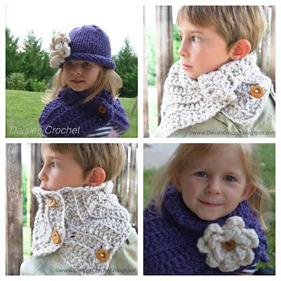 Crochet cowl pattern 3