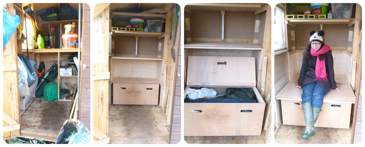 Grow Our Own An Ecotherapy Blog Our Shed Makeover Pt1