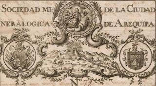 Sociedad Mineralogica de la Ciudad de Arequipa engraved by Joseph Vazquez