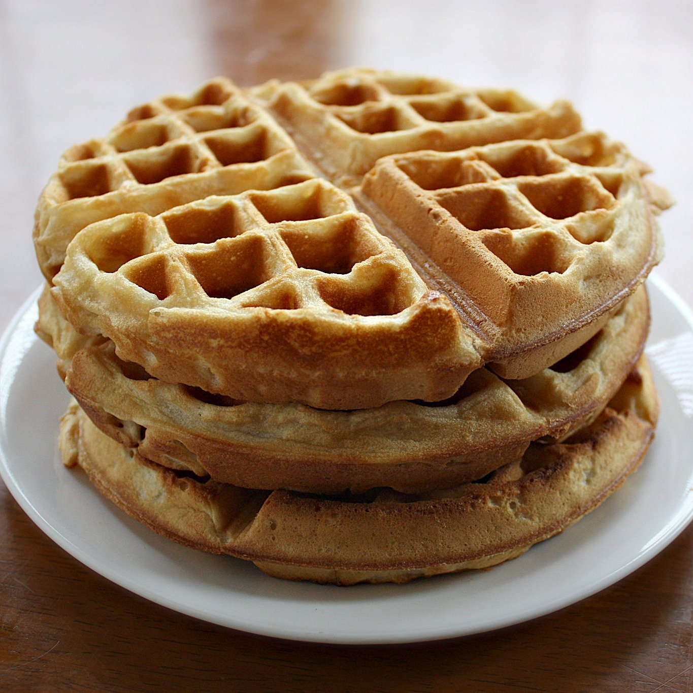 so happy to share this new and improved vegan waffle recipe with ...