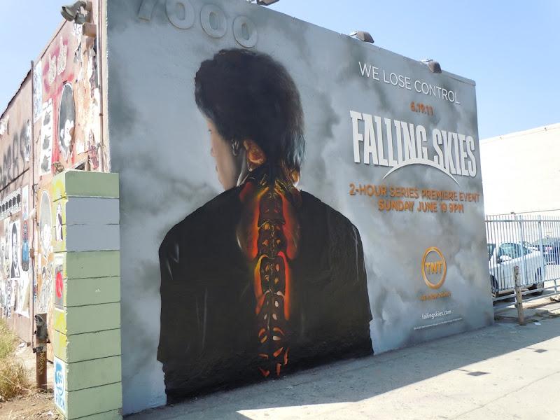 Falling Skies wall mural