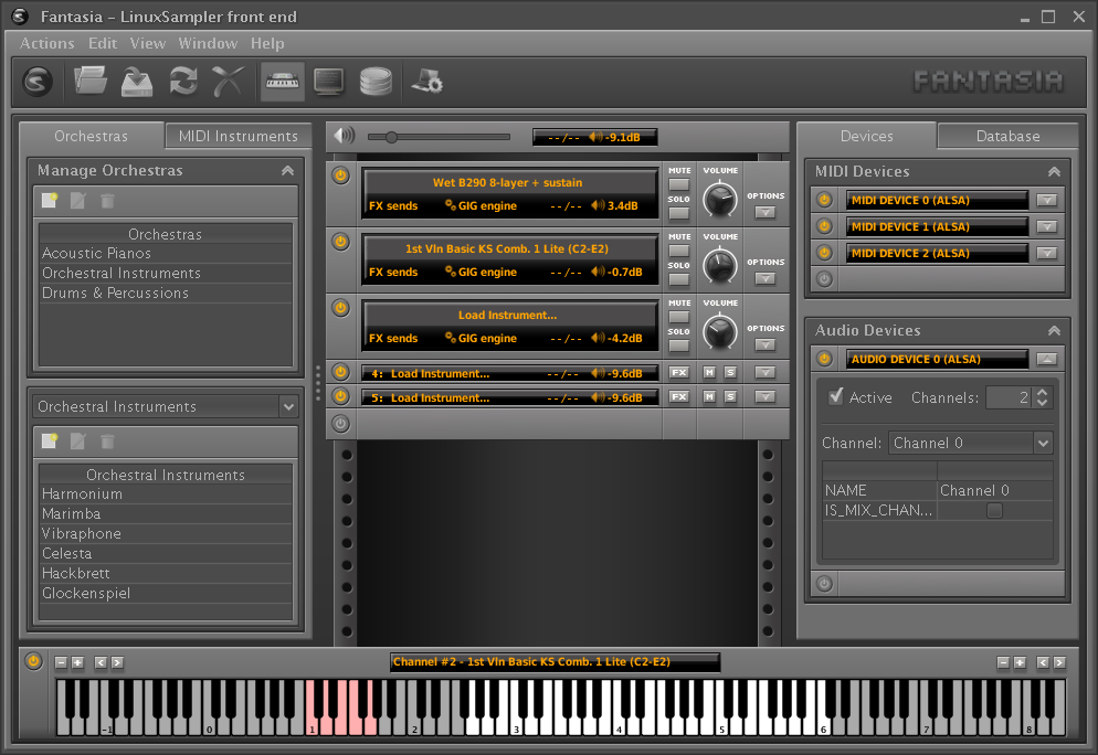 Synthetic Illusion Free Linux Sampler Vsti