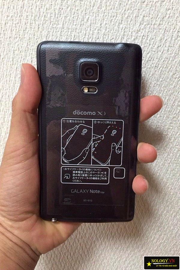 Thiết kế của Samsung galaxy note edge