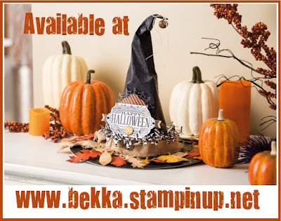 Witching Decor Project Kit available at www.bekka.stampinup.net