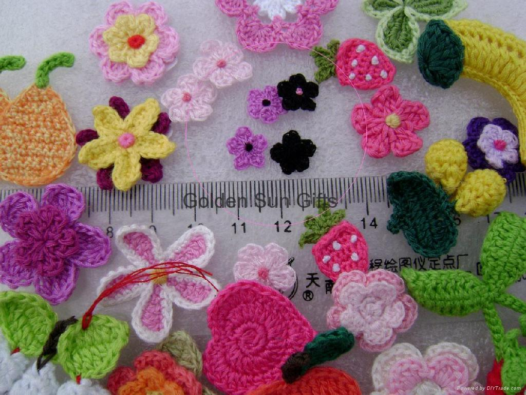 Crocheting Or Knitting : crochet flower-Knitting Gallery