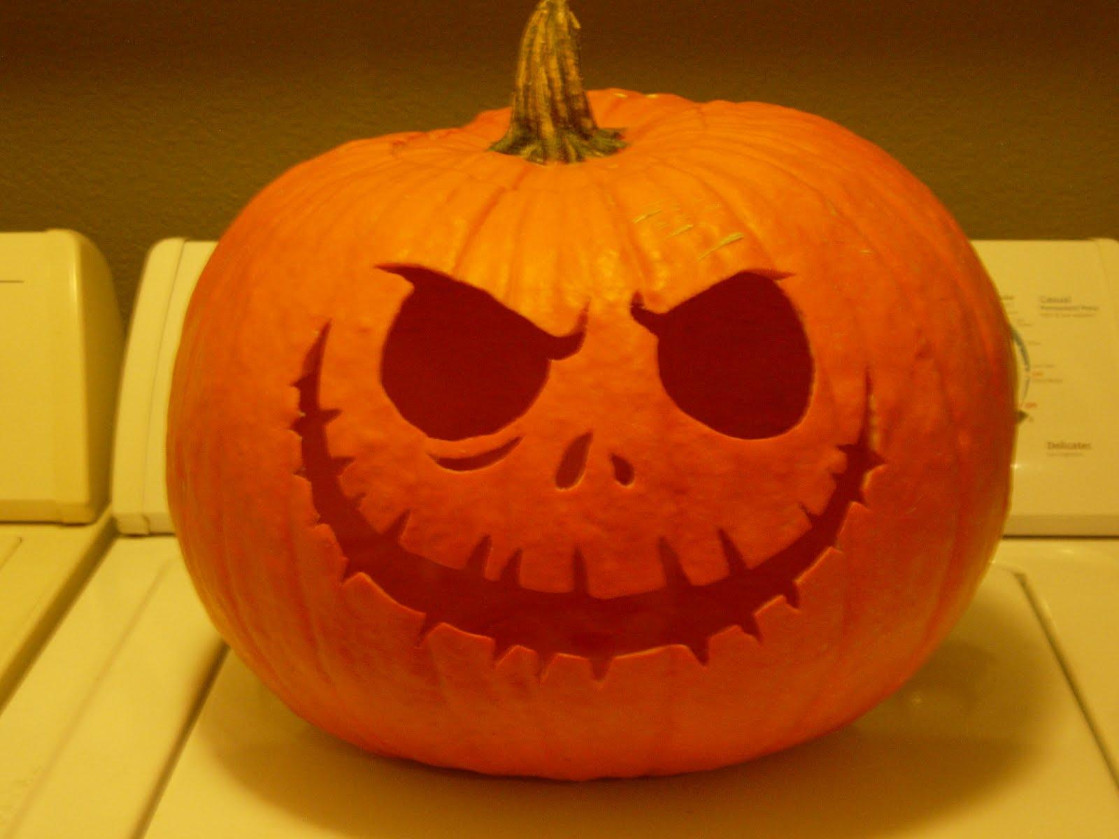 Easy nightmare before christmas pumpkin carving